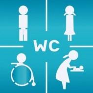 öffentliches WC, Babywickelraum & Stillzimmer