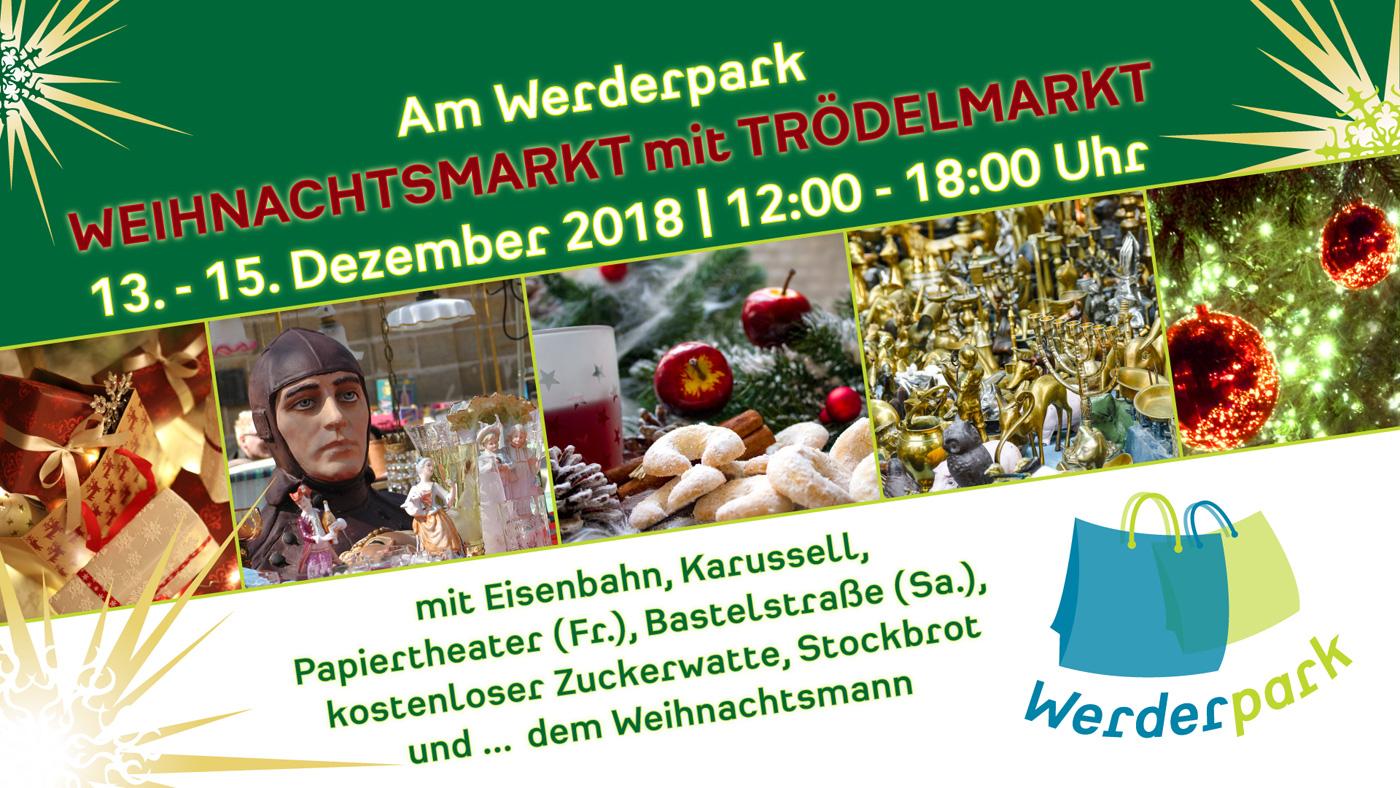 Weihnachtsmarkt am Werderpark